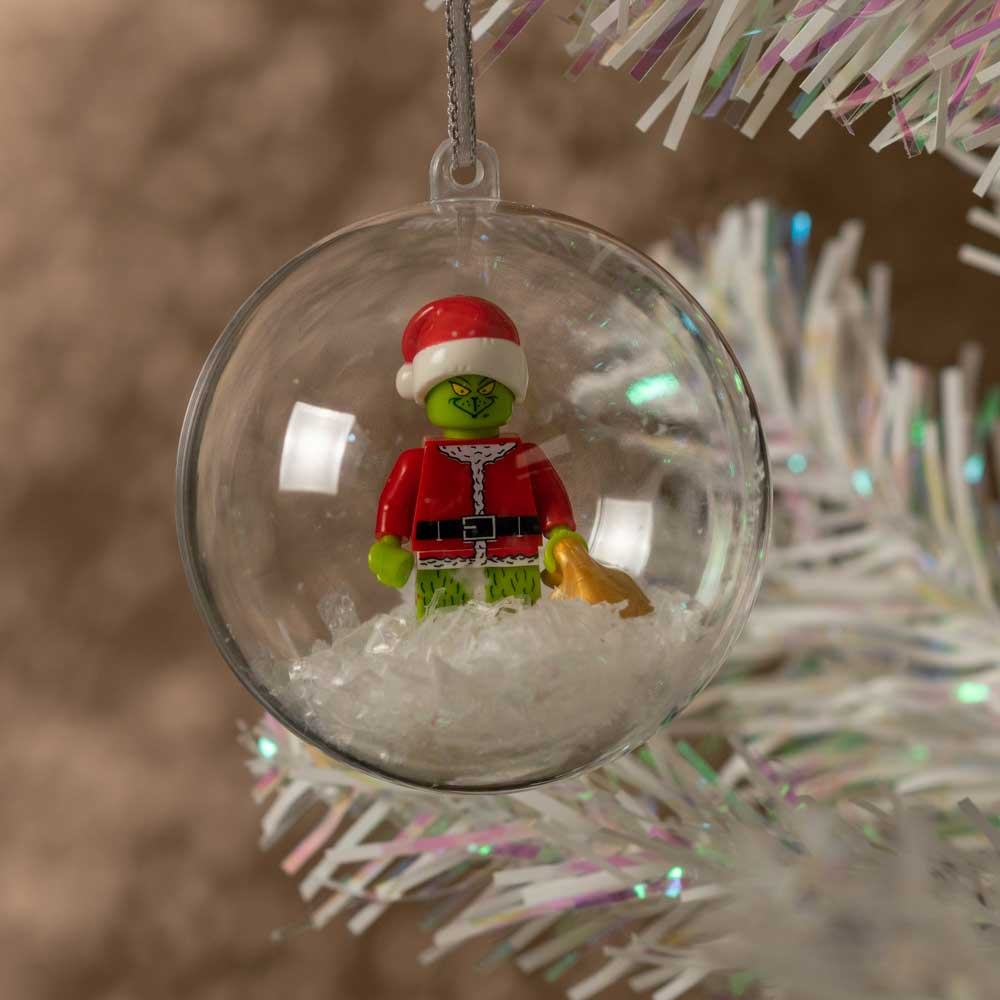 Lego Grinch Bauble The Grinch Bauble Lego Baubles