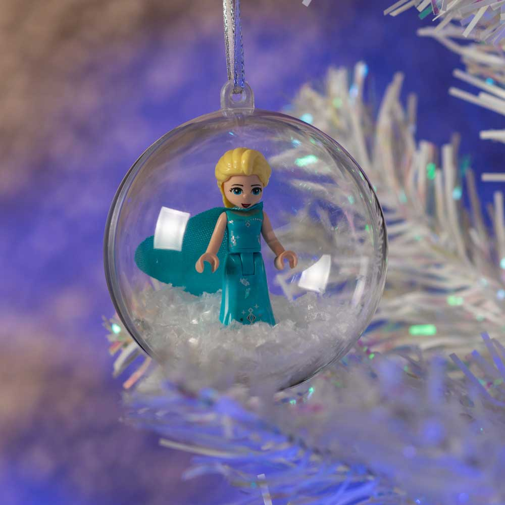 ELSA FROZEN CHRISTMAS TREE BAUBLE UK SELLER
